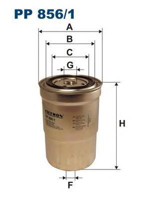 Фильтр топливный PP856/1