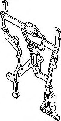 Прокладка передней крышки ГРМ Opel Corsa 1.0i-1.2i-1.4i 16V 96