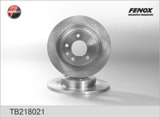 Диск тормозной FENOX TB218021 OPEL Astra J 292*12