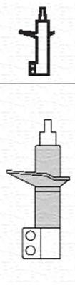 Амортизатор подвески Передн, CITROEN: JUMPER 94-02, JUMPER 02- \ DODGE: RAM 4000 94-02 \ FIAT: DUCATO 02-, DUCATO 94-02 \ PEUGEOT: BOXER 01-, BOXER 94-02