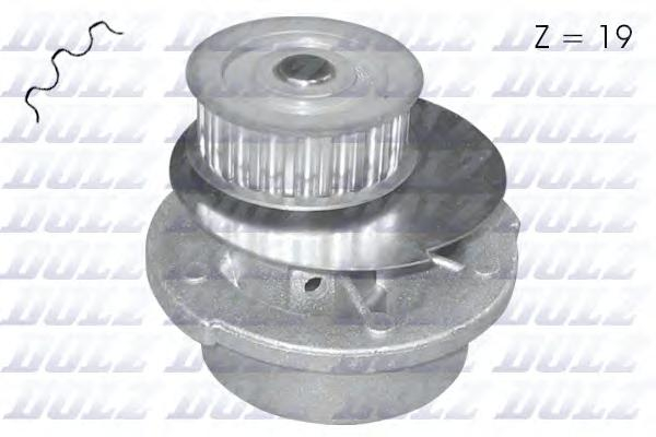Насос водяной Opel Kadett/Vectra/Ascona/Corsa 1.4i-1.6i/GSi 86-96