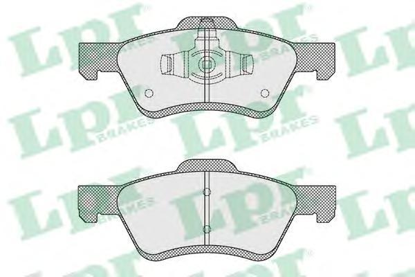 Комплект тормозных колодок 05P1622