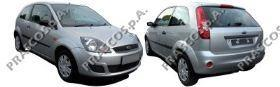 Зеркало в сборе с электроприводом левое-черное / FORD Fiesta 01~12