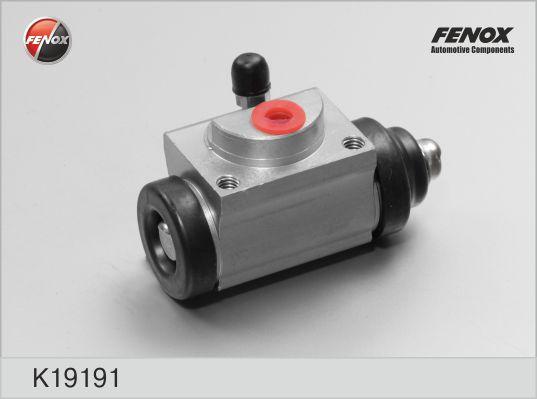 Цилиндр колесный FORD Fusion, NISSAN Micra 03-, Note, Opel Corsa 06-, Renault Clio 05- K19191