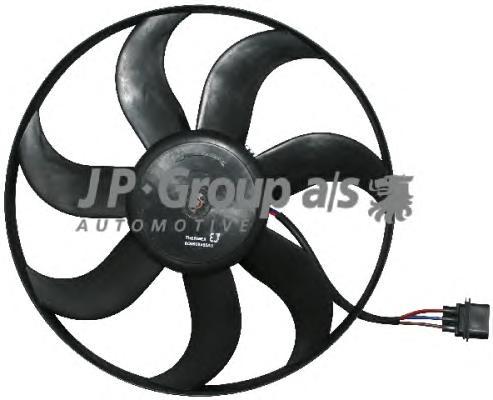 Вентилятор радиатора (260/90Watt- 390mm) SKODA Fab
