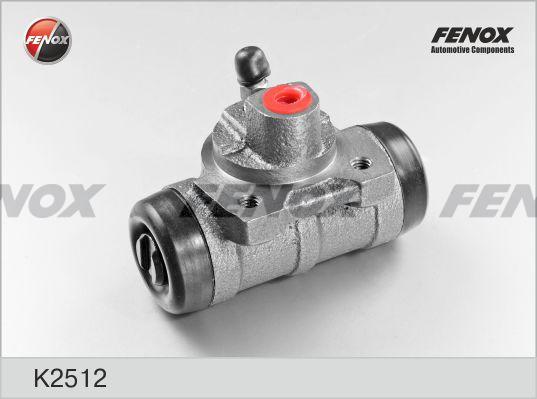 Цилиндр тормозной FENOX K2512 FORD Tranzit 06- задн. раб
