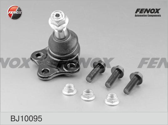 Опора шаровая FENOX BJ10095 Ford Galaxy 06-, Mondeo IV 07-, S-Max 06-; Volvo S60 II 10-, S80 II 06-, V70 III 07-, V60 10- нижняя