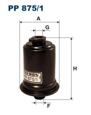 Фильтр топливный HY Atos 01-, Lantra -00