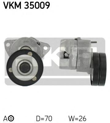 Натяжитель приводного ремня генератора, с кондиционером Opel Vectra 1.6i-2.0i 16V 96>