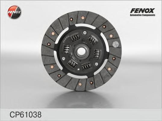 Диск сцепления Renault Logan 1,6 04-, Mitsubishi Carisma 1,6 95- CP61038