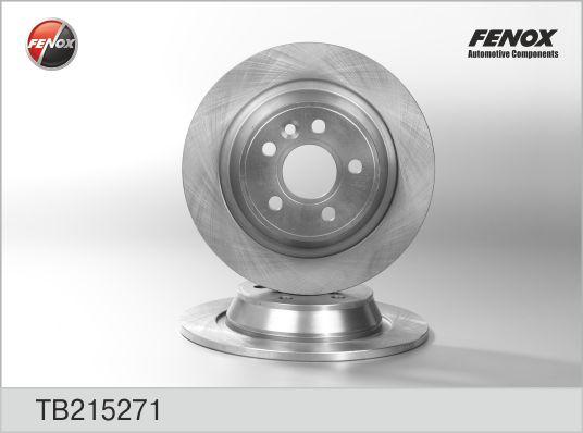 Диск тормозной задний Ford Focus, Mondeo IV, S-MAX TB215271