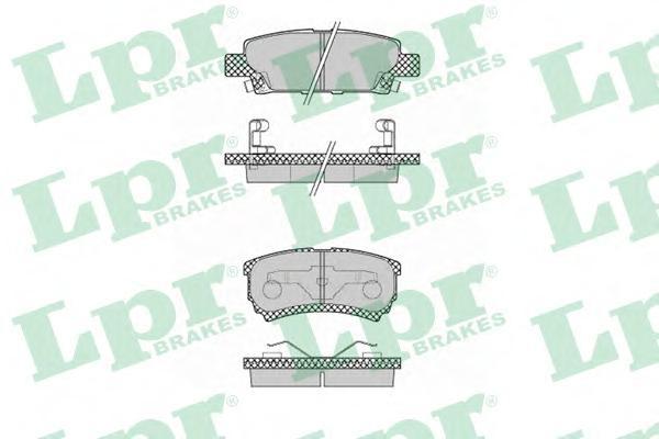 Комплект тормозных колодок 05P1373