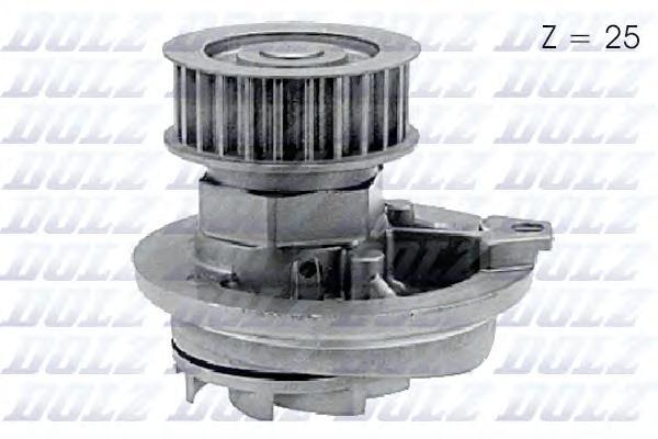 Помпа DOLZ O137 Opel Astra/Omega/Vectra/Calibra 1.6/1.8/2.0 86-