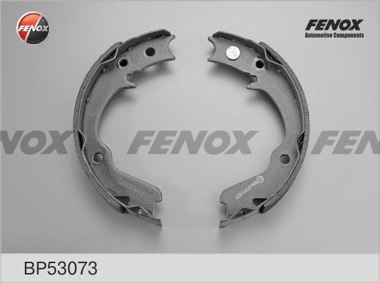 Колодки тормозные FENOX BP53073 Mitsubishi Outlander 2.0-3.0, 03-