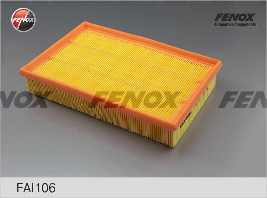 Фильтр воздушный Ford Focus 04- 1,4-2,0, Volvo S40 04- 1,8, 2,0, V50 04- 1,6-2,0 FAI106