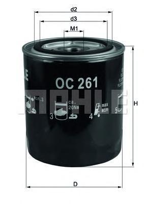 Фильтр масляный RANGE ROVER 4,0-4,6