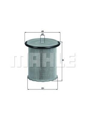 Фильтр топливный PEUGEOT 406/605 2.1TD 01/96->