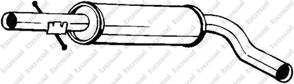 Глушитель центральный AUDI A3 96-03