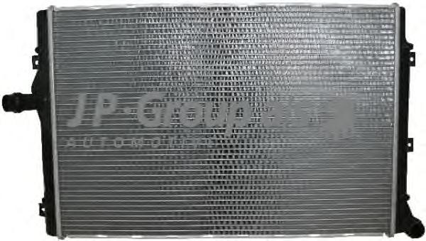 Радиатор охлаждения (650х418) VAG 1.4-2.0 03~