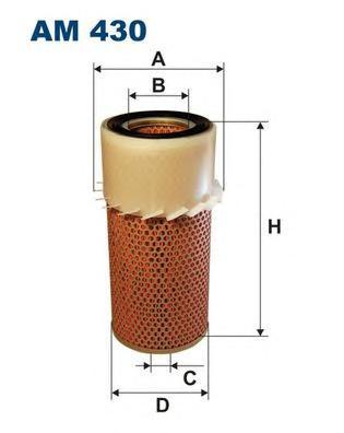 Фильтр воздушный HY Galloper, MI L300
