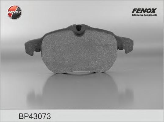Колодки тормозные FENOX BP43073 OPEL Vectra C пер.