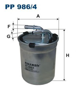 Фильтр топливный VAG A1,Fabia, Polo 14-