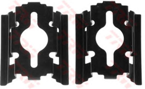 Ремкомплект суппорта передний (клипсы) FIAT DUCATO (230, 244) PFK502