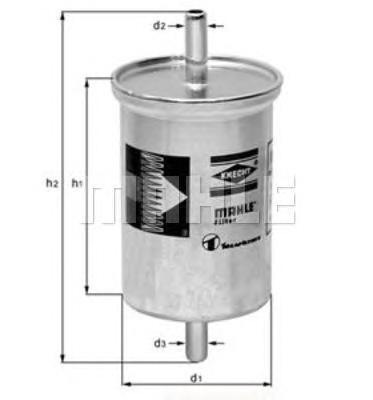 Фильтр топливный EFG317 Gal 95- Knecht