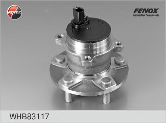 Ступица задняя Ford Focus II 04-11, C-Max 07-, Focus C-Max 03-07 WHB83117