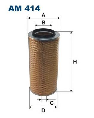 Фильтр воздушный AM414