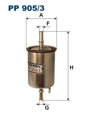 Фильтр топливный PP905/3