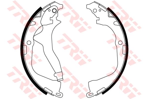 Колодки барабанные VW AMAROK GS8800