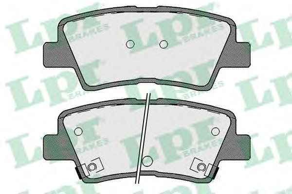 Колодки тормозные дисковые 05P1710