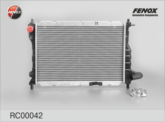 Радиатор FENOX RC00042 Chevrolet (Spark (05-) 0.8/1.0 M/A; Matiz (05-) 0.8/1.0 M/A)