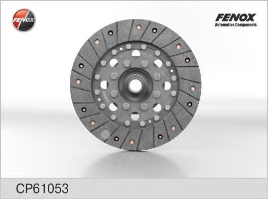 Диск сцепления FENOX CP61053 Hyundai Sonata IV (EF) 2.4, 2.5, 2.7 98-04, Santa Fe (SM) 2.0, 2.4, 2.7 01-; KIA Magentis 2.5 01- [225x20]