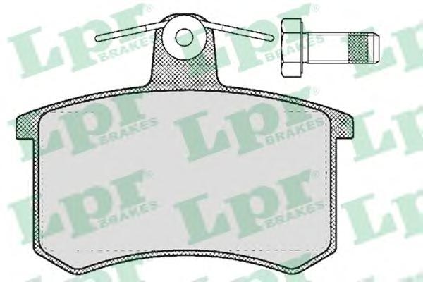 Комплект тормозных колодок 05P215