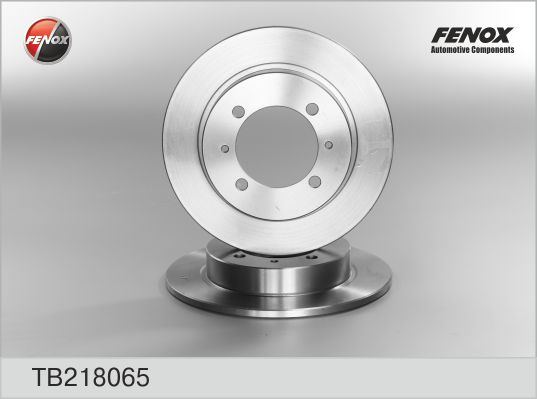 Диск тормозной FENOX TB218065 MMC Carisma/Volvo S40 задн