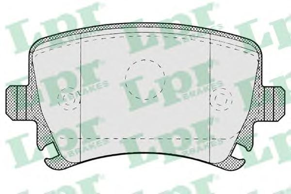 Комплект тормозных колодок 05P1219