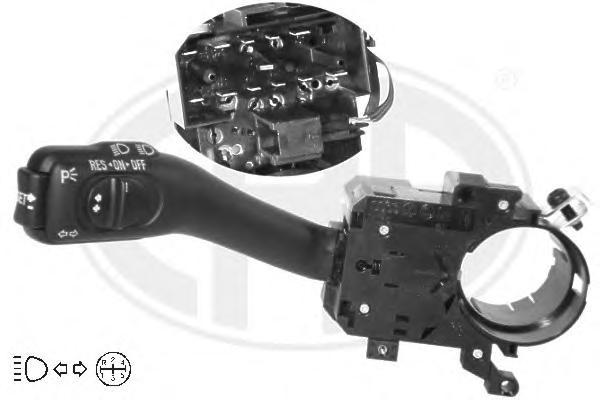 Переключатель подрулевой ERA 440379 VW GOLF 97-05/SHARAN 05-10/PASSAT 97-05/AUDI A6 97-05 света