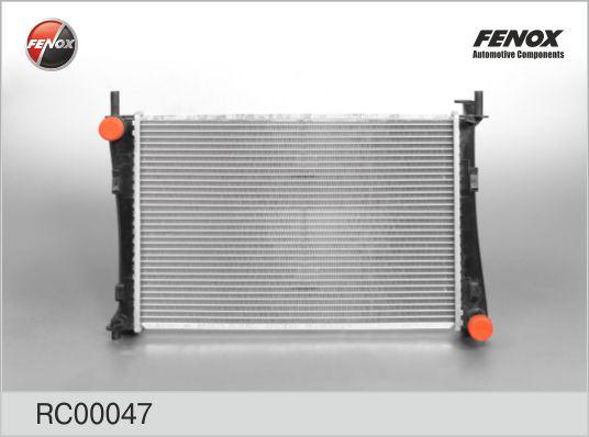 Радиатор FENOX RC00047 Ford Fiesta/Fusion 1.4/1.6 16V 02-