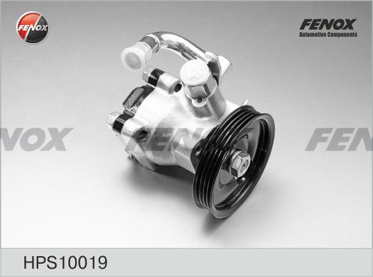 Насос г/усилителя FENOX HPS10019 HYUNDAI GETZ 1.3/1.4