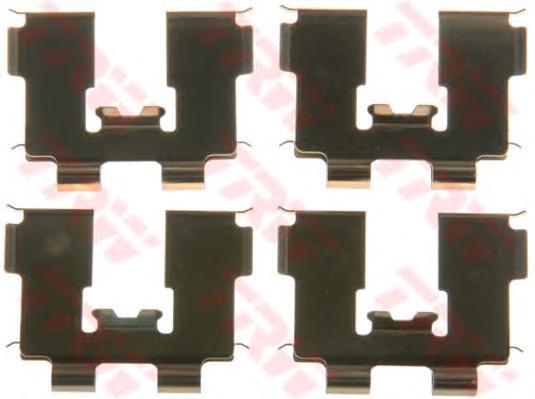 Ремкомплект для задн колодок HYUNDAI SANTA FE II PFK564