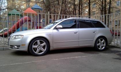Eibach Audi A4 Station Wagon