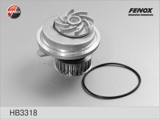 Насос водяной Opel Astra/Omega/Vectra/Calibra 1,6i/1,8i/2,0i 86> HB3318