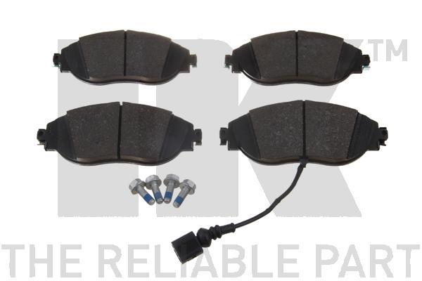 Колодки тормозные дисковые передние / VW Passat 11~, Passat CC 09~