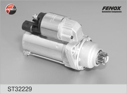 Стартер FENOX ST32229 Skoda Fabia 99- 2.0, Octavia 04- 1.6; VW Golf 04- 1.6, Jetta 05- 1.6