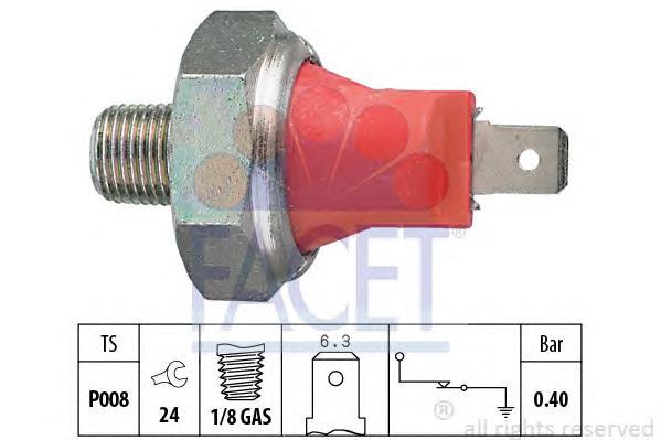 Датчик давления масла ACURA: INTEGRA Наклонная задняя часть 1.6/1.6 i 85-90, INTEGRA купе 1.6/1.6 i 85-90, INTEGRA седан 1.6/1.6 i 85-90 \ CHEVROLET: AVEO седан 1.2 05