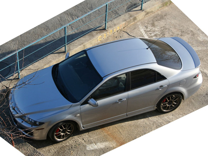 Eibach Pro-Kit на Mazda 6 MPS