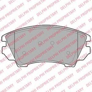 Колодки передние OPEL INSIGNIA LP2081