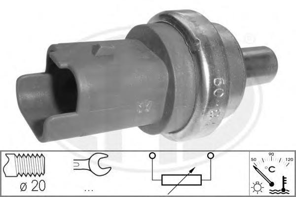 Датчик температуры охлаждающей жидкости CITROEN: BERLINGO 1.6 HDi 110/1.6 HDi 75/1.6 HDi 90 08-, BERLINGO (MF) 1.6 HDI 75 (MF9HW)/1.6 HDI 90 (MF9HX)/2.0 HDI 90 (MFRHY)/2.0 HDi (MFRHY)/2